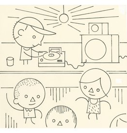 Ivan Brunetti DJ, Illustration by Ivan Brunetti for the New Yorker, Goings On About Town, September 12, 2013