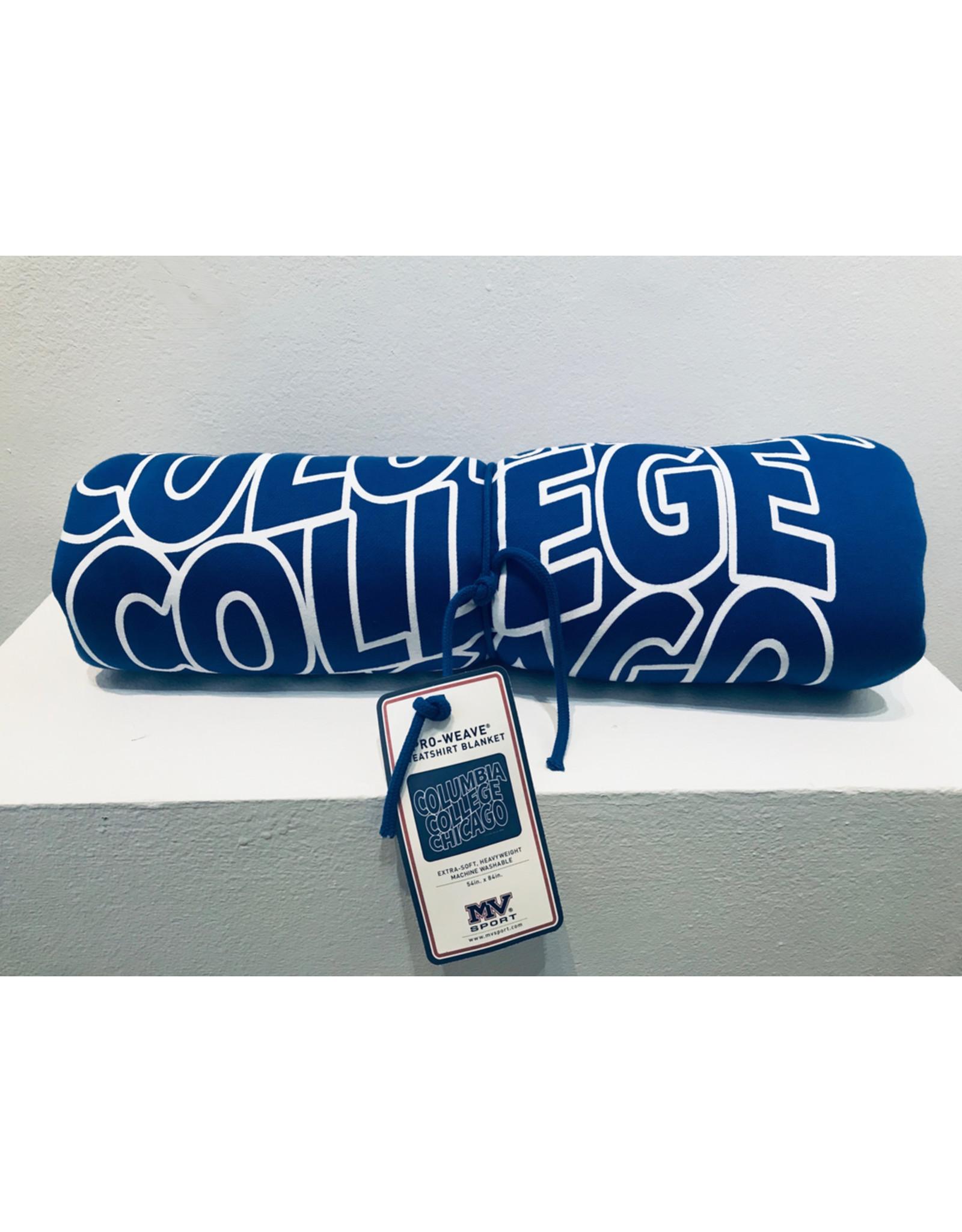 Buy Columbia, By Columbia Columbia College Chicago Sweatshirt Blanket in Hyper Blue - Buy Columbia, By Columbia