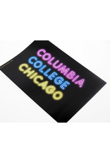 Buy Columbia, By Columbia Columbia College Chicago Neon  Sticker - Buy Columbia, By Columbia