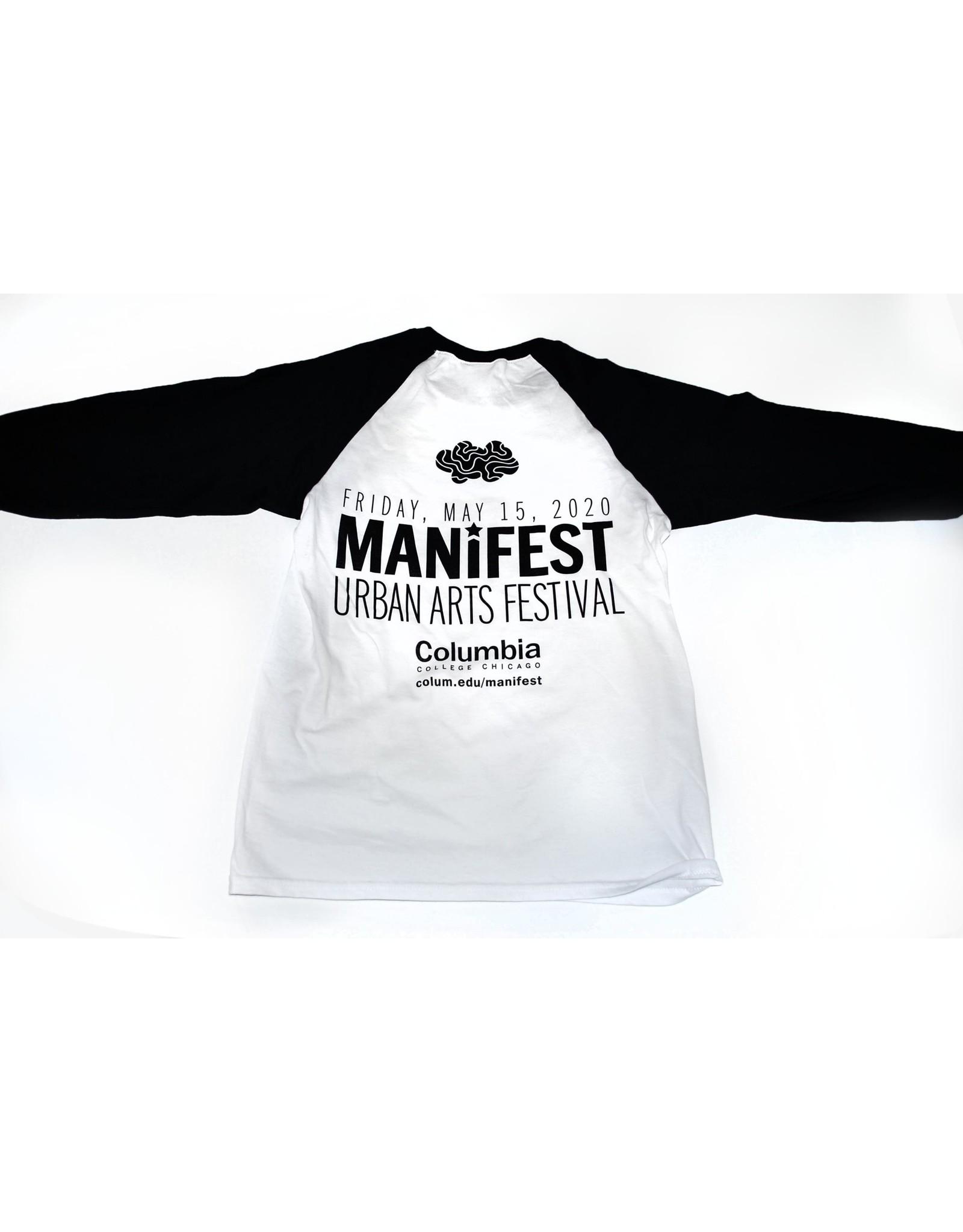 Manifest 2020 baseball tee XS ONLY!