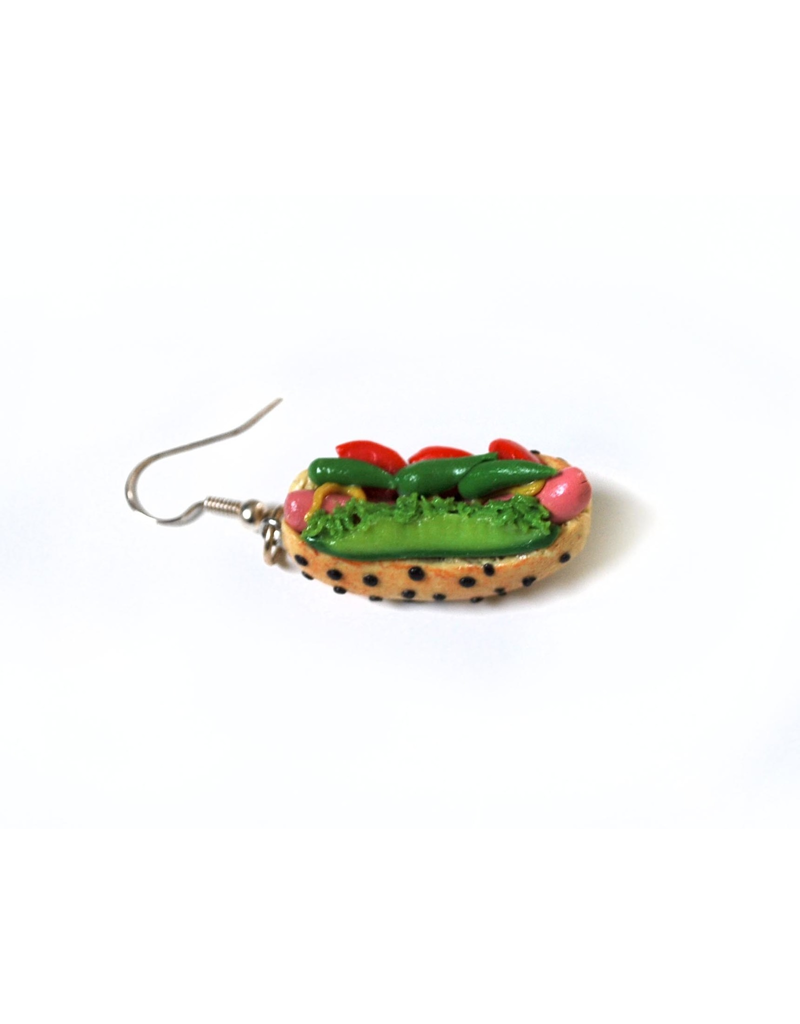 """""""Chicago Dogs"""" Single Earring by GERM Jewelry"""