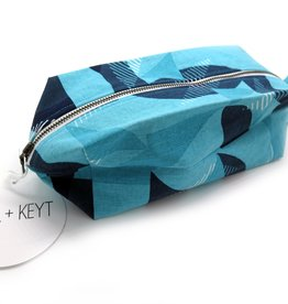 PINTL + KEYT Jigsaw (Blue) Dopp Kit by PINTL + KEYT