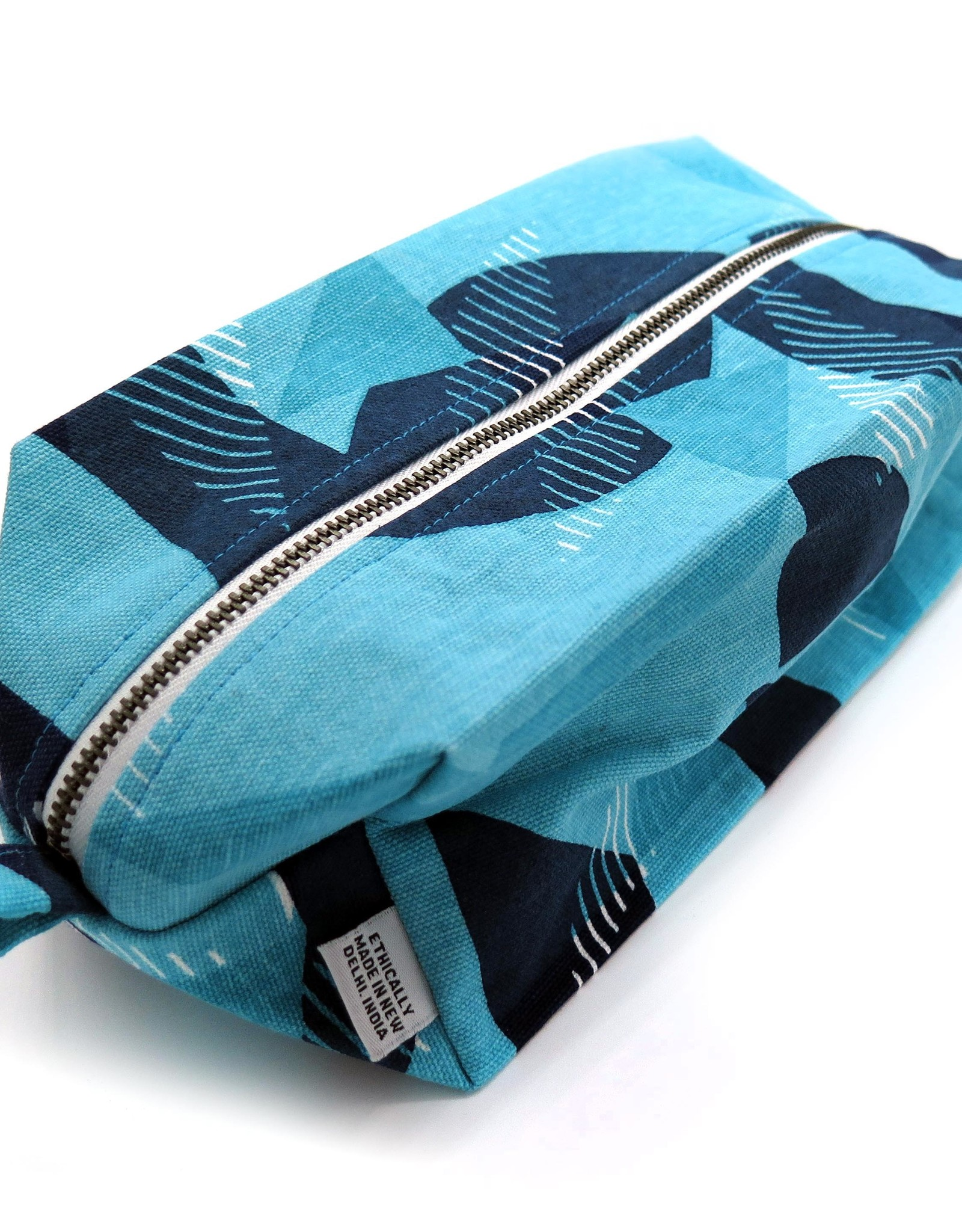 Jigsaw (Blue) Dopp Kit by PINTL + KEYT