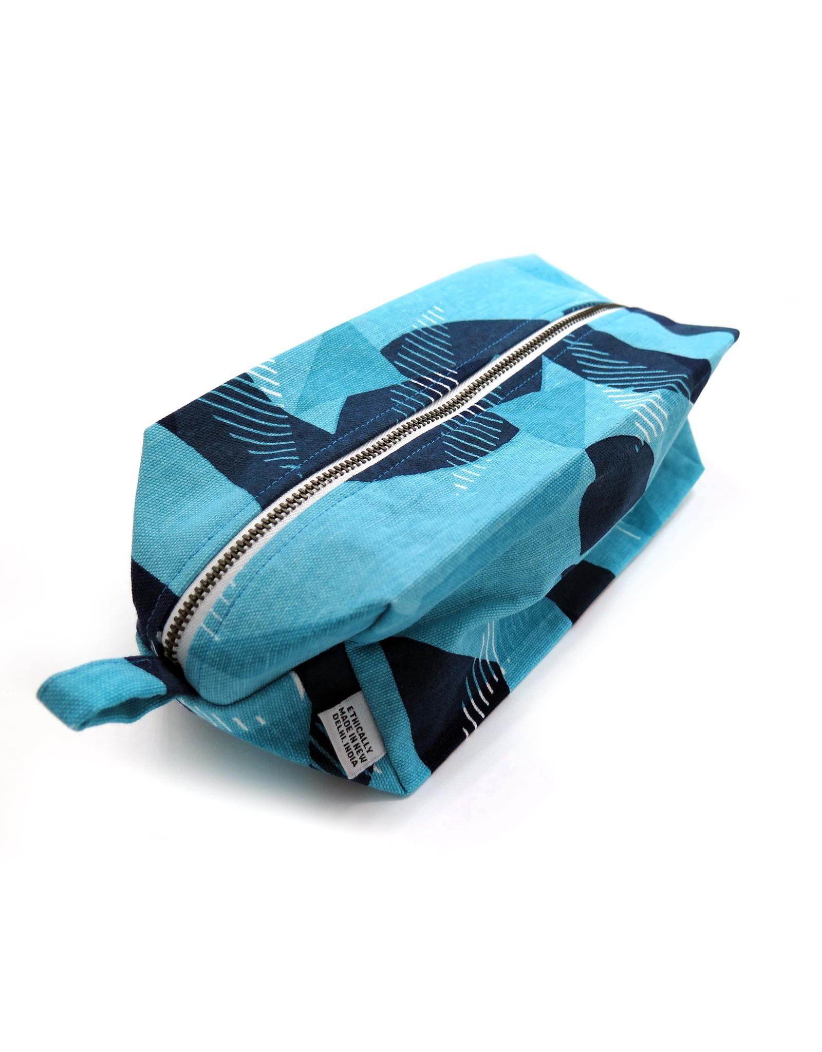 Jigsaw (Blue) Dopp Kit by PINTL + KEYT