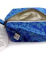 Rome (Blue) Dopp Kit by PINTL + KEYT