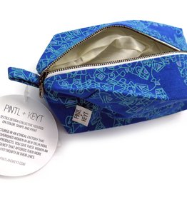 Rome (Blue) Dopp Kit by PINTL + KEYT