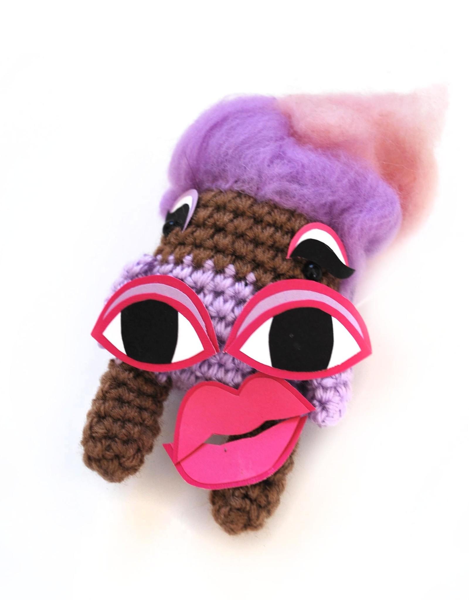 """Mats Applesauce Crochet """"Monique Heart"""" by Mats Applesauce Crochet"""