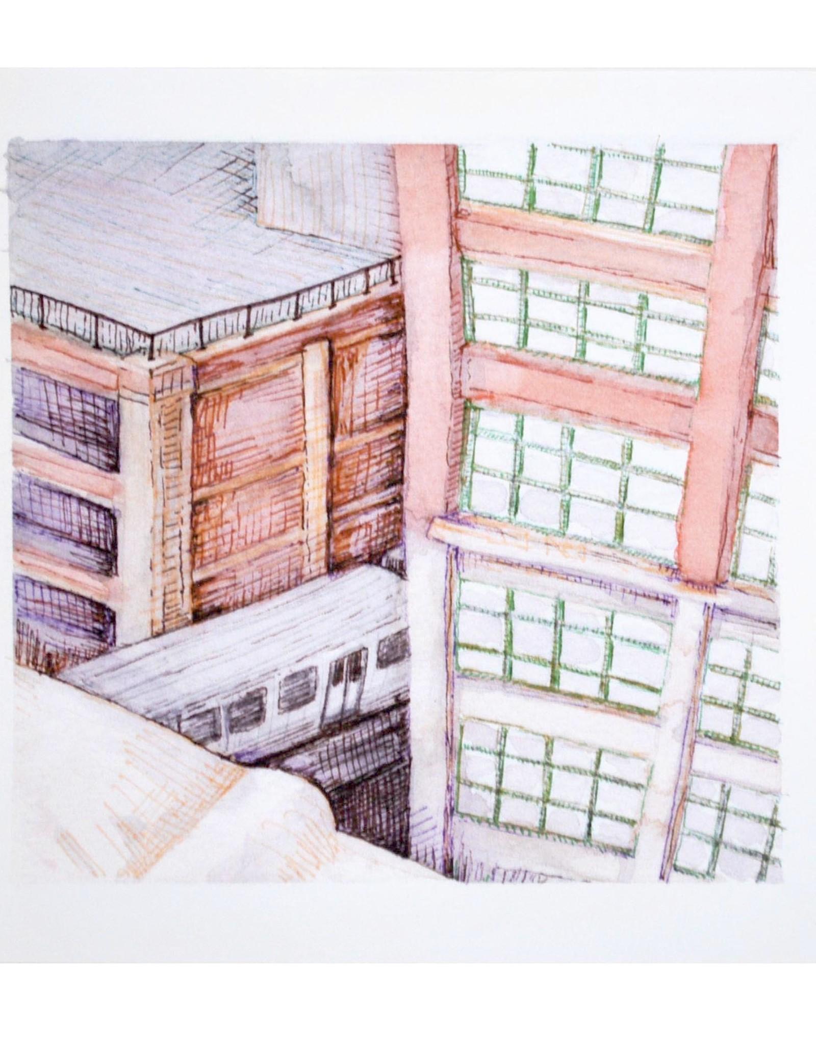 """Savanna Steffens """"Mini City View"""" by Savanna Steffens"""