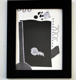 Julia Arredondo Sleep to Dream, framed collage by Julia Arredondo