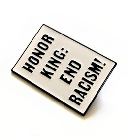 Honor King Enamel Pin by ReformedSchool