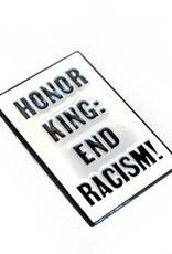 Honor King Enamel Pin by ReformedSchool