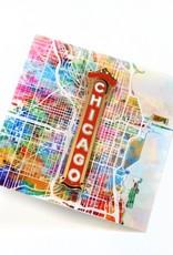 ReformedSchool Chicago Enamel Pin by ReformedSchool