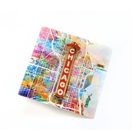 Chicago Enamel Pin by ReformedSchool