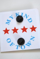 Chicago Enamel Pin by ReformedSchool