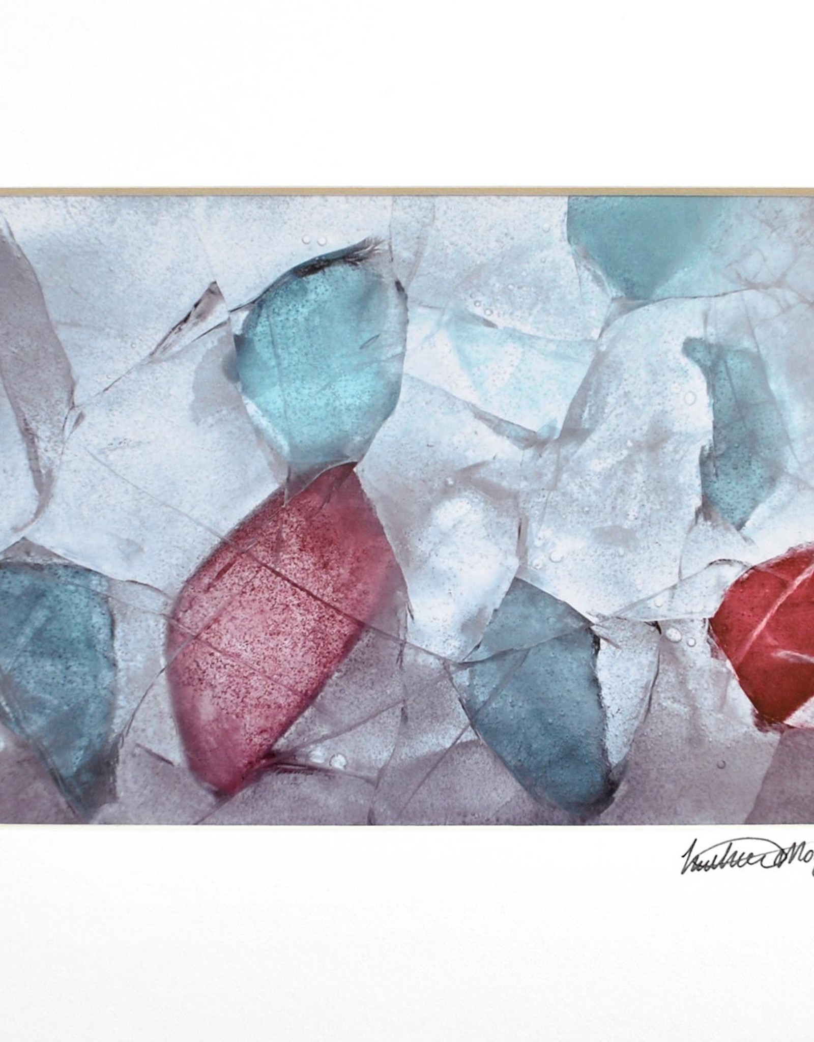 """""""Sea Glass from Maine"""" by Heather Monks (5x7 print, 8x10 mat)"""