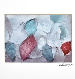 """Sea Glass from Maine"" by Heather Monks (5x7 print, 8x10 mat)"