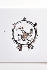 Antique Bird Watercolor
