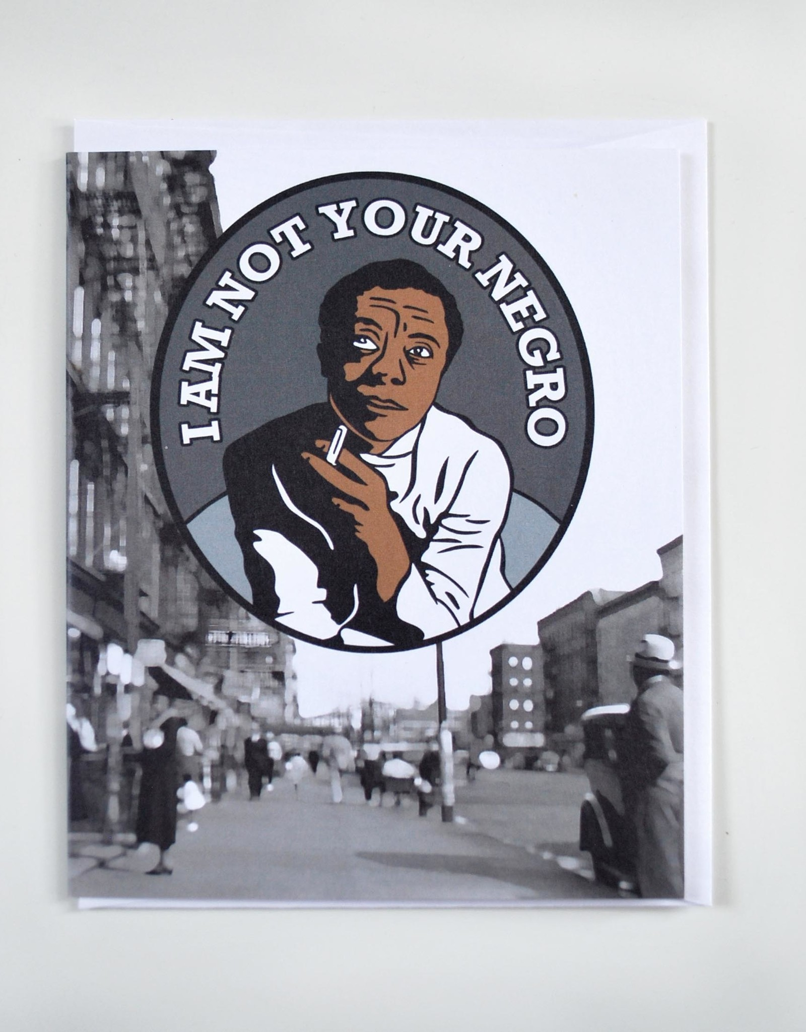 James Baldwin Greeting Card by ReformedSchool