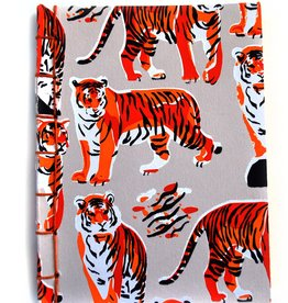 Tiger Pattern Notebook by Danielle Przybysz