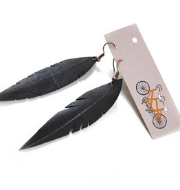 True Partners in Craft Feather Earrings on Earwire by True Partners in Craft