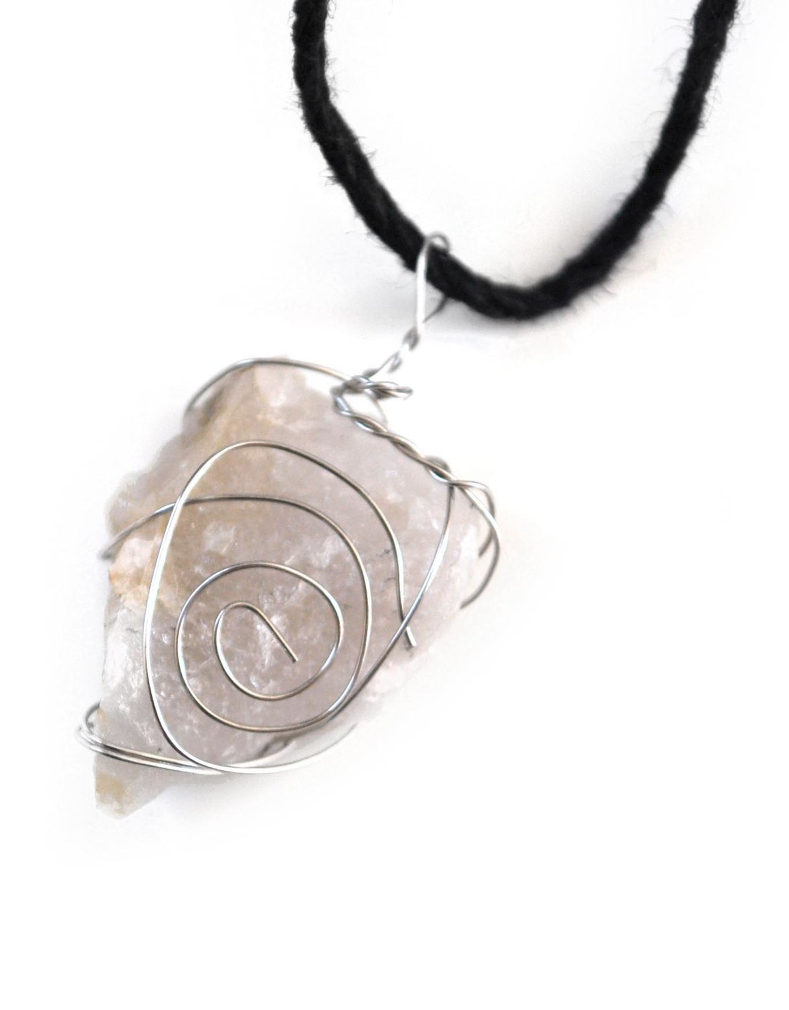 Mikey Tardy Clear Quartz Necklace by Mikey Tardy