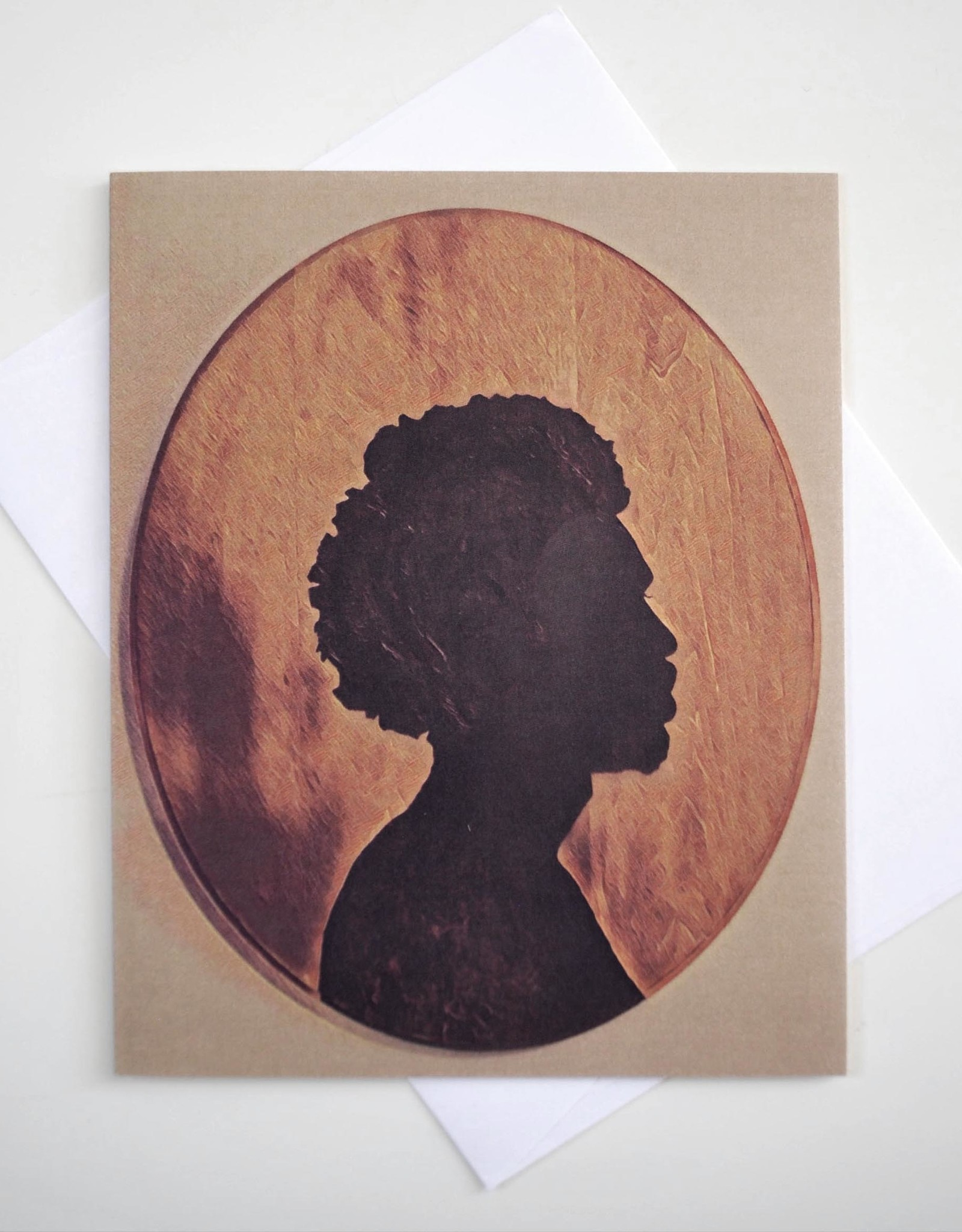ReformedSchool Afro cameo Greeting Card by ReformedSchool