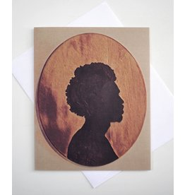 Afro cameo Greeting Card by ReformedSchool