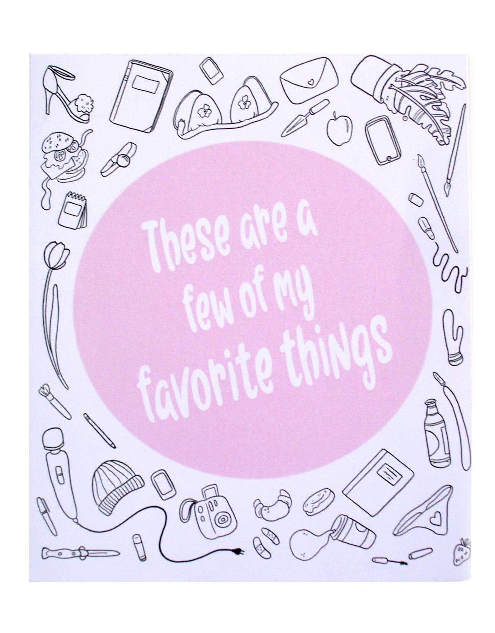 """Mel Valentine """"These Are a Few of My Favorite Things"""" zine by Mel Valentine"""