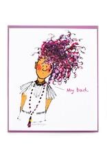 """Sam Kirk """"My Bad"""" Greeting Card by Sam Kirk"""