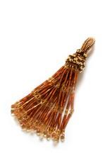 Knot Thinkers Tassle Pendant (topaz)