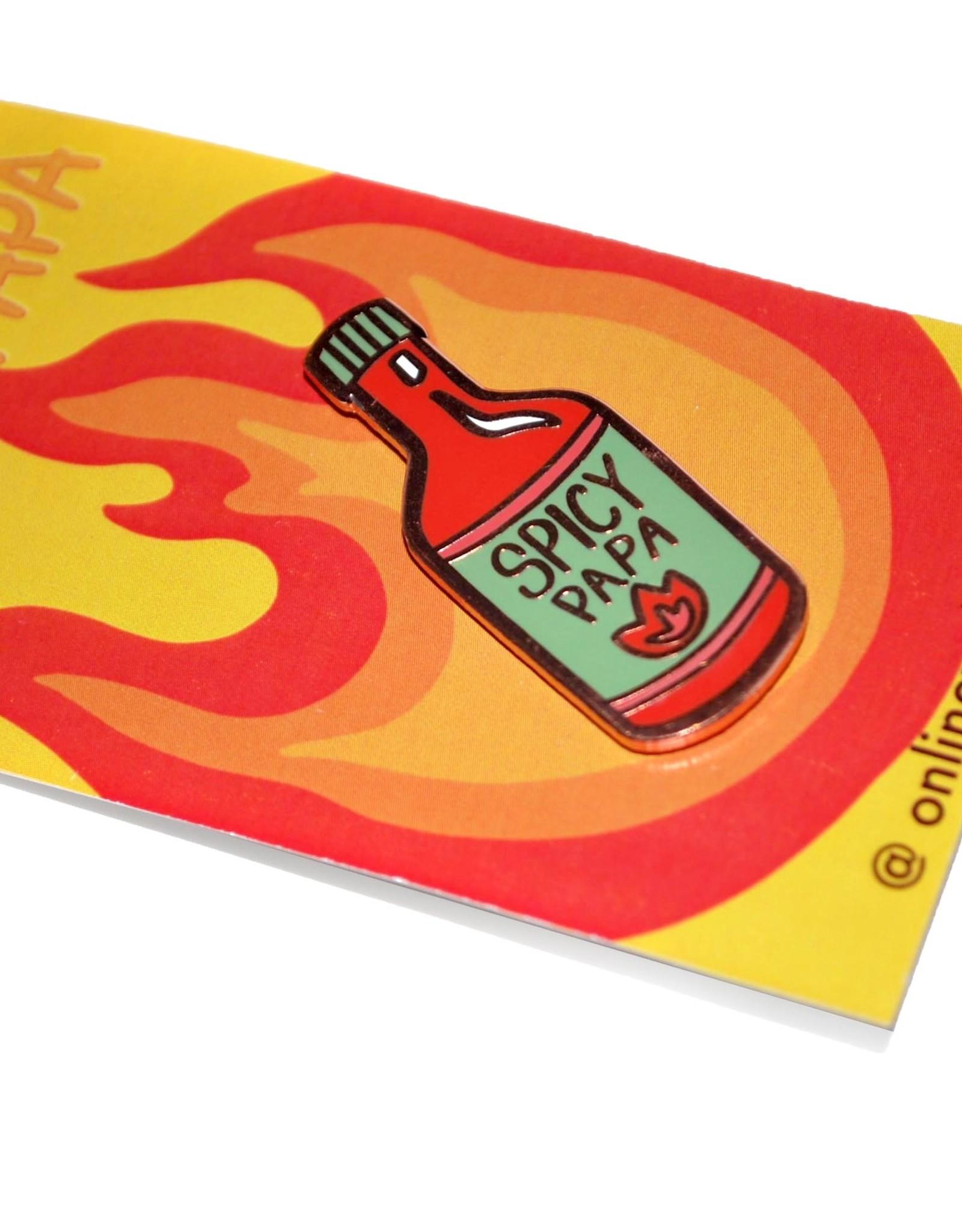 "Mel Valentine ""Spicy Papa"" Pin by Mel Valentine"