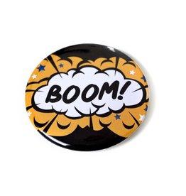 """David Knight Corvus Press """"Boom"""" Button by David Knight"""