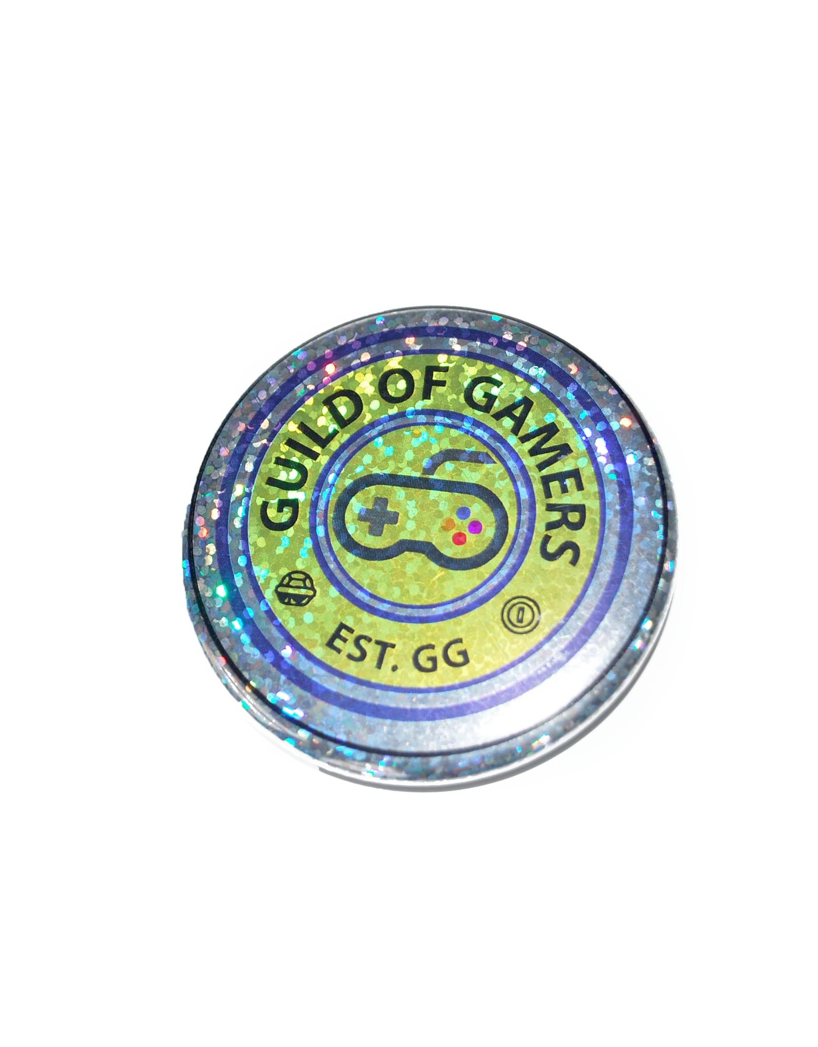 """Knight Illustrations Phat Ass  """"Gamer"""" Single Button by David Knight"""