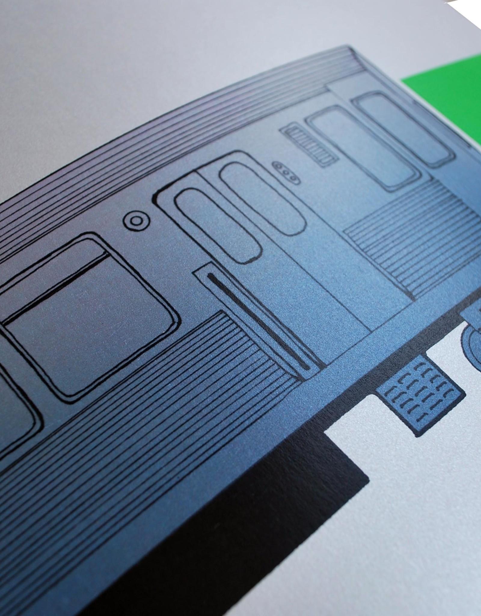 """Knight Illustrations """"L"""" print by David Knight"""