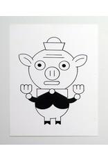 Ivan Brunetti Pig, Illustration by Ivan Brunetti