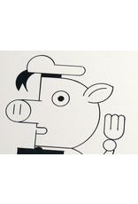 Ivan Brunetti Pigs, Illustration by Ivan Brunetti