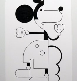 Ivan Brunetti Mouse #1,  Illustration by Ivan Brunetti