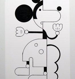 Ivan Brunetti Mouse #1,  Illustration by Ivan Brunetti