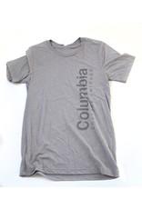 Buy Columbia, By Columbia SALE: Columbia Logo Tshirt Gray 2X