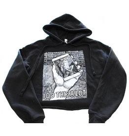 Cropped hooded sweatshirt, Fashion Underground