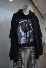Women's Cropped hooded sweatshirt, Fashion Underground