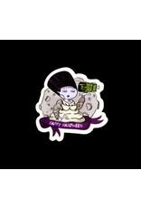 """Adriana Vincenti """"Frankenstein Bride"""" sticker by Adriana Vincenti"""