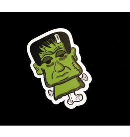 """Adriana Vincenti """"Frankenstein head"""" sticker by Adriana Vincenti"""