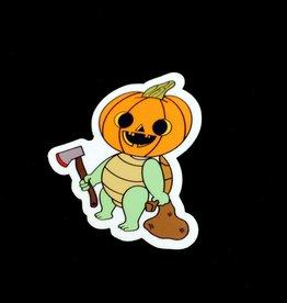 "Adriana Vincenti ""Pumpkin turtle"" sticker by Adriana Vincenti"