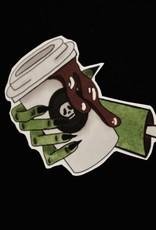 Cup of Joe sticker by Lucille MIller