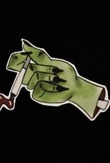 Smoking Kills sticker by Lucille Miller