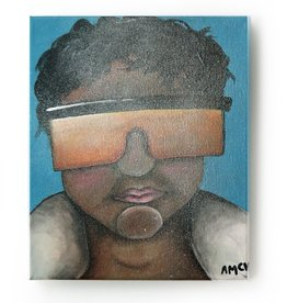 "AMCV ""Self-Portrait"" 1 acrylic on canvas by AMCV"