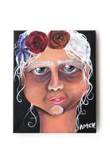 "AMCV ""Self-Portrait"" 2 acrylic on canvas by AMCV"