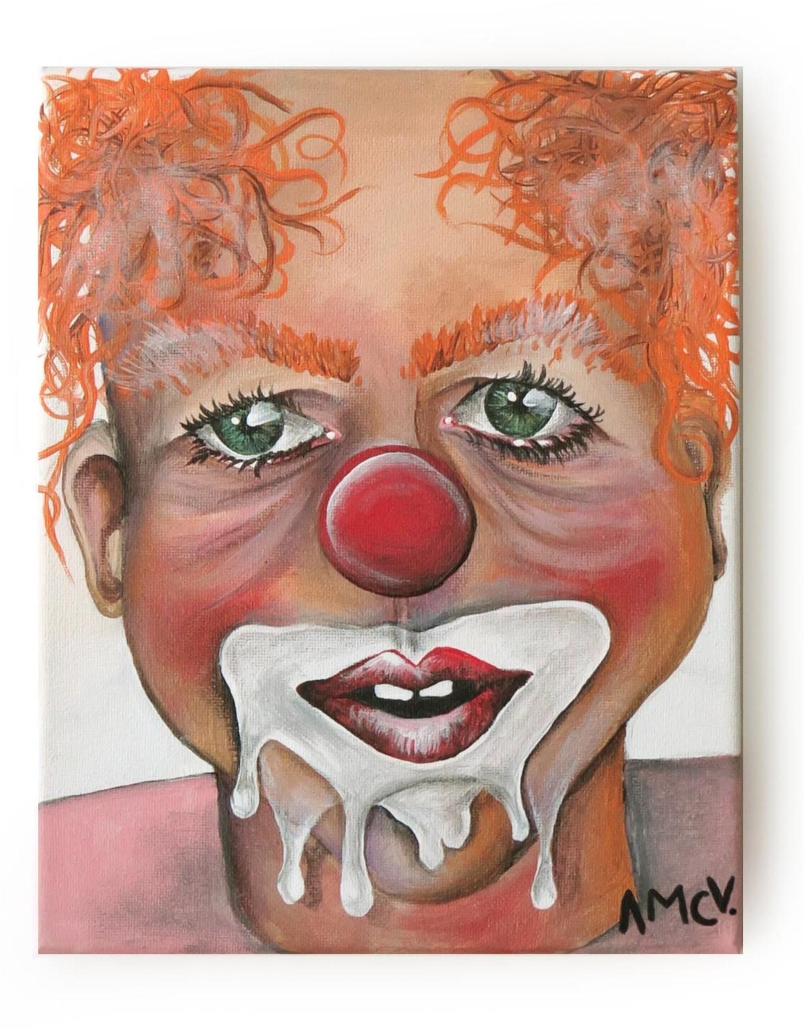 "AMCV ""Self-Portrait"" 3 acrylic on canvas by AMCV"