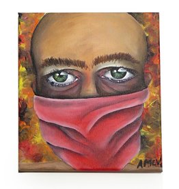"AMCV ""Self-Portrait"" 6 acrylic on canvas by AMCV"